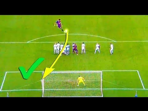 Messi - todos os  gols de faltas - 2006 - 2018