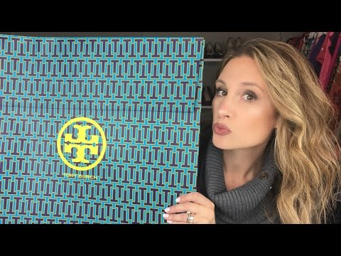 TORY BURCH UNBOXING