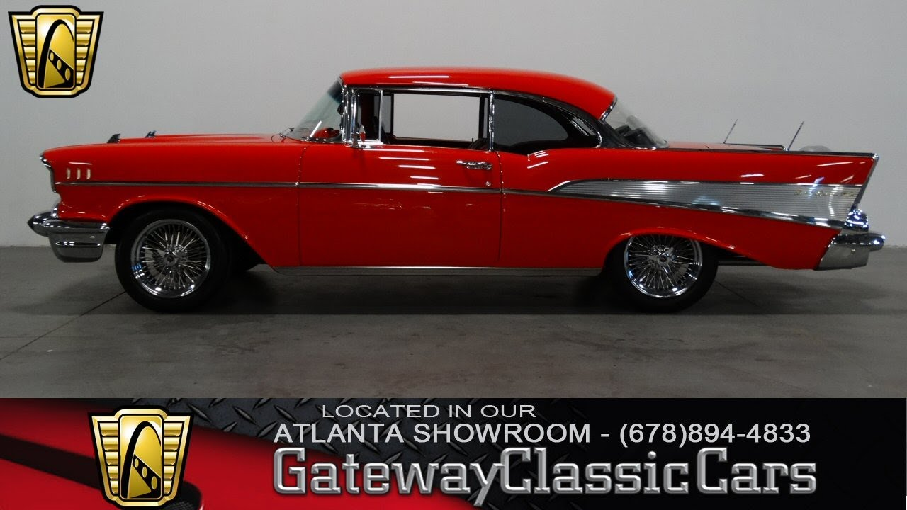 1957 chevrolet bel air gateway classic cars of atlanta 172