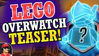 NEW Official Lego Overwatch Teaser! + Minifigure / Set Speculation! (Overwatch News)