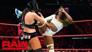 Naomi vs. Billie Kay: Raw, April 22, 2019