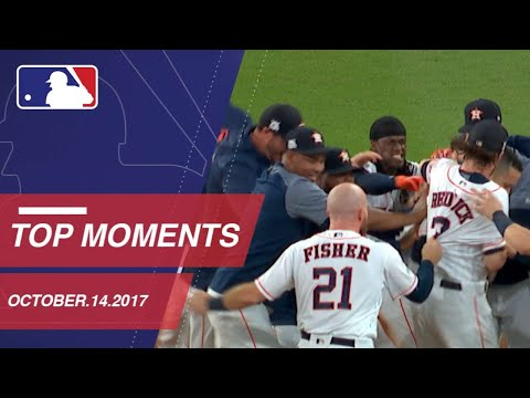 Astros walk off, plus nine more moments on 10/14/17