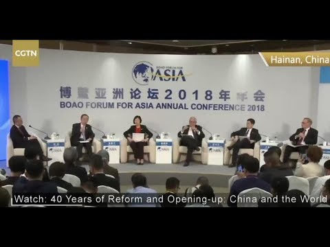 LIVE: 40 Years of Reform & Opening-up: China and the World