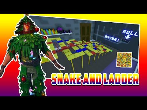 SNAKES & LADDERS In Fortnite Creative
