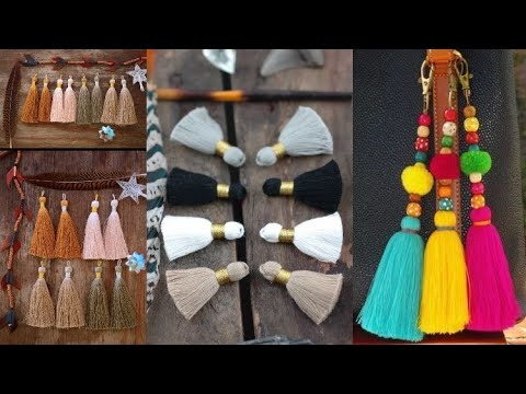 How To Make Tassels Very Beautiful And Creative Design Ideas And Clothes Design Ideas At Home