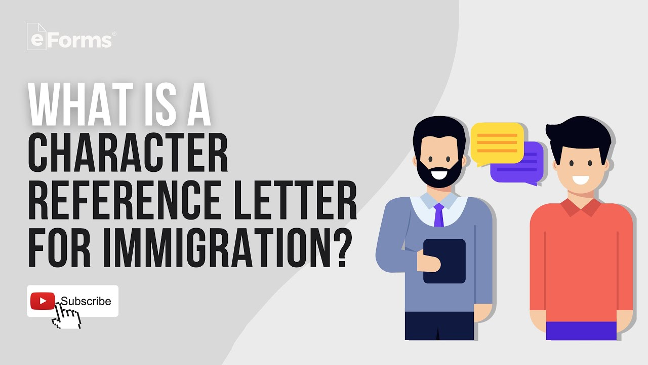 Immigration Recommendation Letter Template from i.ytimg.com