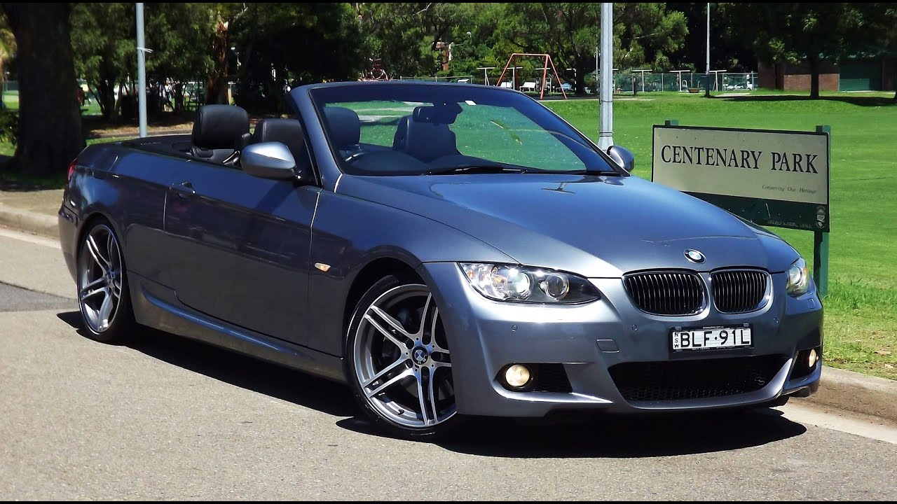 BMW I MSport Cabriolet Auto MY YouTube - 2009 bmw 335i convertible