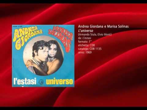Andrea Giordana e Marisa Solinas  L'universo 1969