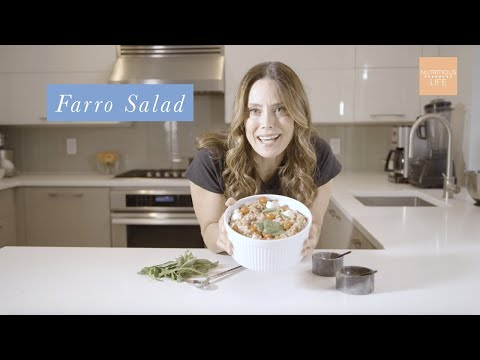Fresh Mozzarella Farro Salad Recipe