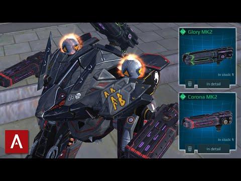 FENRIR GLORY CORONA MK2 GAMEPLAY - Best Lockdown Brawler? || War Robots [WR]