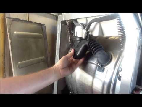 Washing Machine Leaking >> Miele W1712 Leaking - YouTube