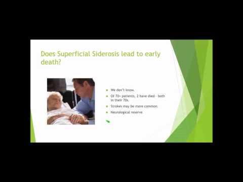 Superficial Siderosis Webinar