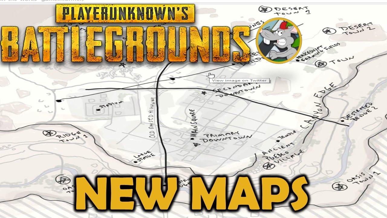 Playerunknown S Battlegrounds Desert Map: PlayerUnknown's Battlegrounds NEW MAPS
