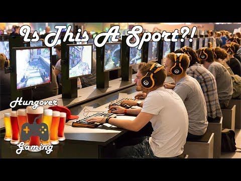 Are Esports Real Sports?-Hungover podcast ep. 18