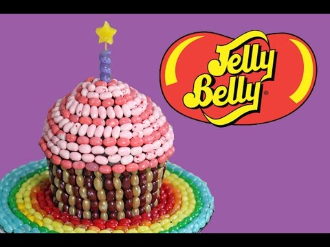 How To Make A Jelly Bean Cake