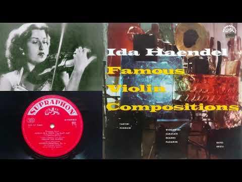 Ravel: Habanera (Ida Haendel, violin; Alfred Holeček, piano)