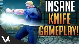 SFV - Cody, Insane Knife Gameplay! Cody Ranked Matches For Street Fighter 5 Arcade Edition