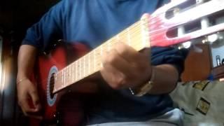 dejenme si estoy llorando los angeles negros tutorial guitarra