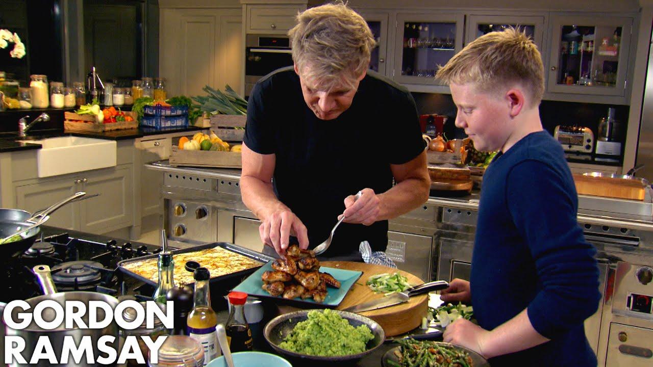 Gordon Ramsay's Simple At Home Recipes | Gordon Ramsay | Part One