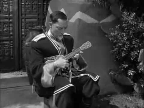 Buster Keaton Sings with Ukulele