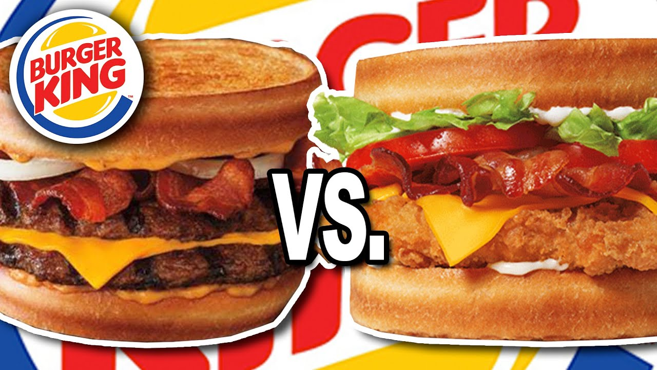Burger King ???????? Sourdough King VS Sourdough Crispy Chicken Club