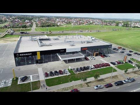 Специальный репортаж с открытия нового автоцентра Renault Минск Каменногорская 11