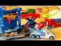 Carrinhos da hot wheels na oficina mini cidade mp3