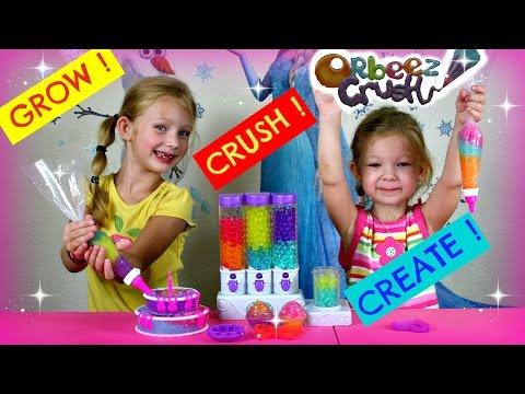 NEW ORBEEZ CRUSH Sweet Treats Studio Orbeez Toys / Bolitas de Gel