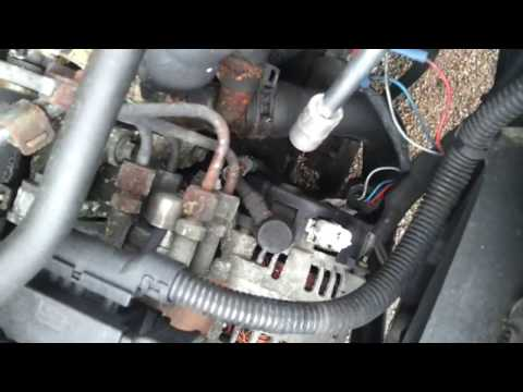 2002 Ford Focus 1.8 Alternator replace and troubleshoot