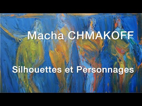 Macha Chmakoff Peinture 4 5 Silhouettes Et Personnages Youtube