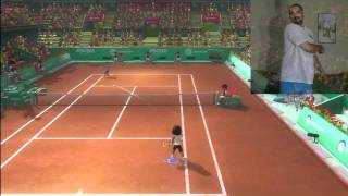 PS3 Move Racquet Sports Tennis Hands On