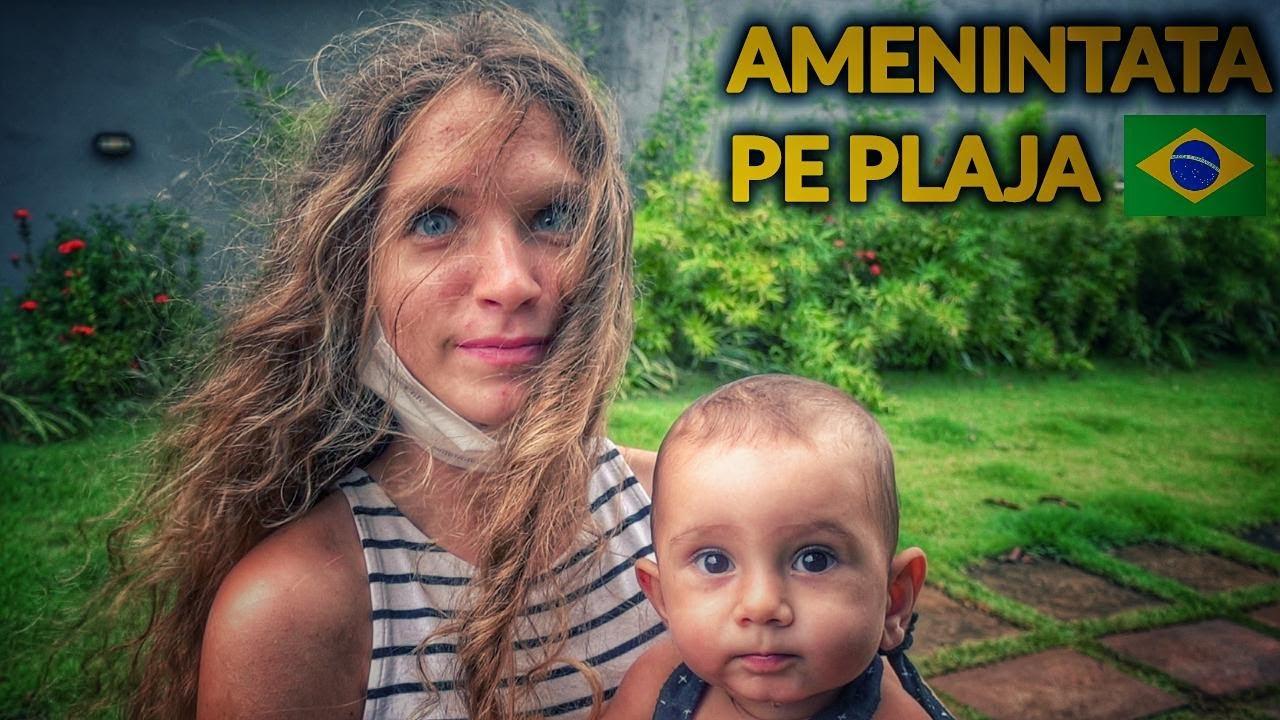 A FOST AMENINTATA CU PISTOLUL DE DOI BRAZILIENI (are doar 15 ani)