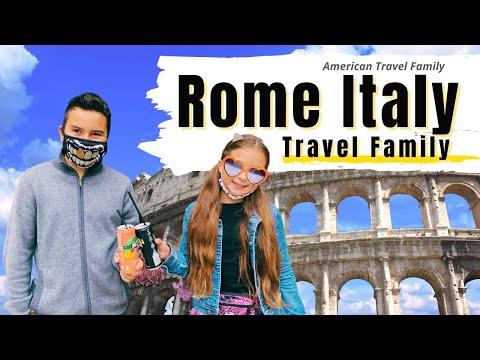ROME ITALY - TRAVEL FAMILY VLOG