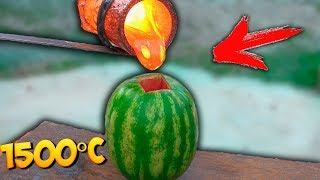 EXPERIMENT: REAL LAVA vs WATERMELON