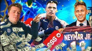 NEYMAR I SANCHEZ W PSG?! FIFA 17 KARIERA