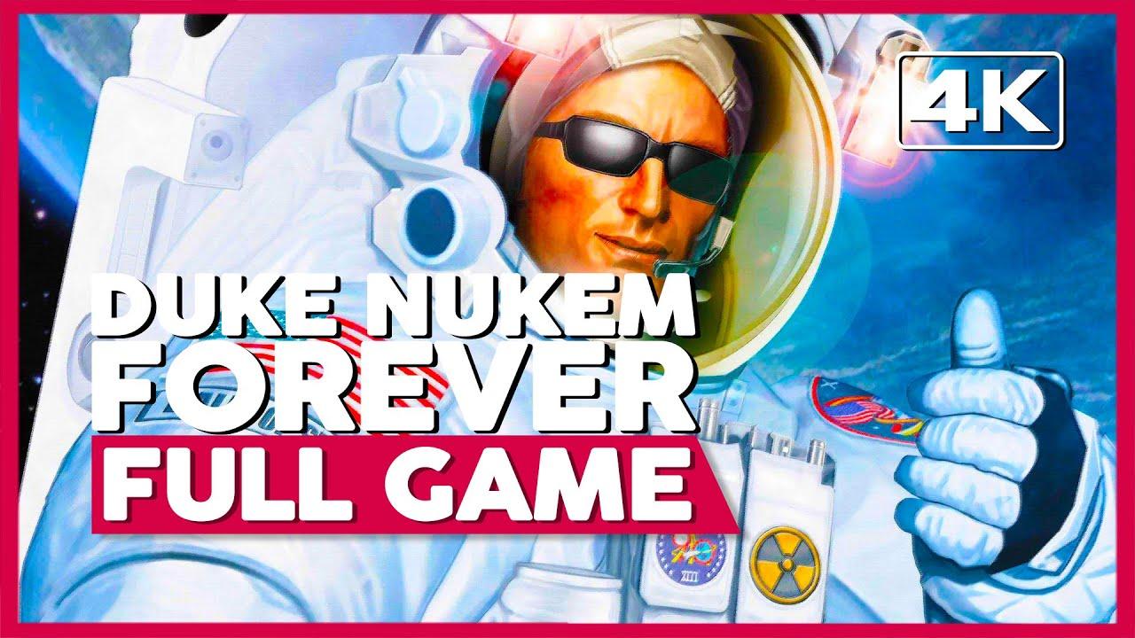 Duke Nukem Forever | Full Game Playthrough | No Commentary [PC 4K 60FPS]