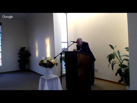 Joseph Pipa conference on preaching in Johannesburg 20170715