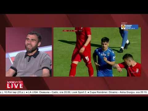 Vasile Maftei, la Look Sport LIVE | Despre Rapidul UEFAntastic, Voluntari și lupta la titlu