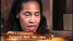 Predatory Title loans the focus of new Fed Consumer Bureau