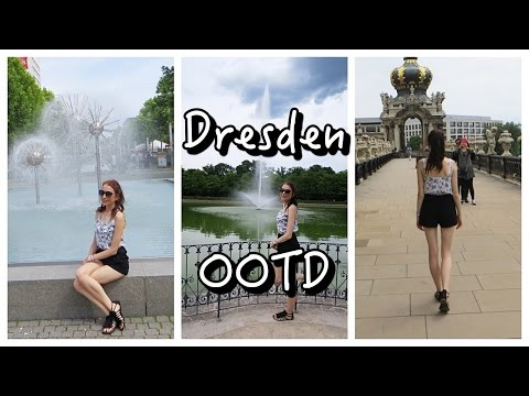 Dresden, Germany OOTD Lookbook Summer 2016 Holiday Outfits