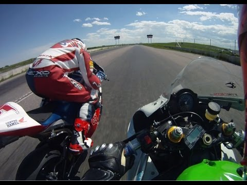 ZX-6R CDN Racer Documentary 2010 Calgary Superbike National. Rider's POV. Part 2