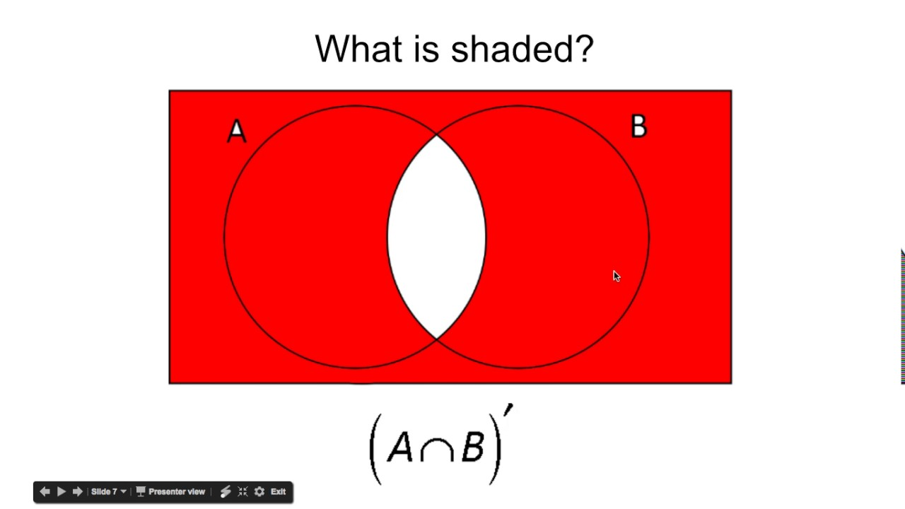 Shading venn diagrams youtube shading venn diagrams pooptronica