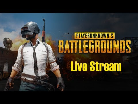 PLAYERUNKNOWNS BATTLEGROUNDS Live Stream 2017 PUBG Live