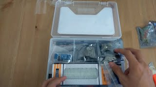 unboxing 14 ultimate uno r3 starter kit rtc 1602lcd for arduino