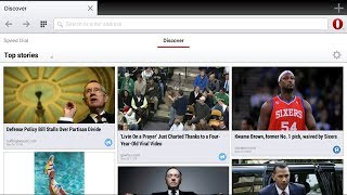 Opera Browser updated with new look for Tablets