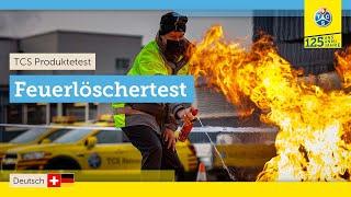 TCS - Feuerlöschertest