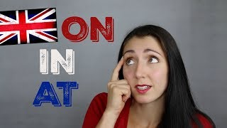 ENGLISH PREPOSITIONS: On, In, & At - Learn English / LIVE British English Lesson with Anna English