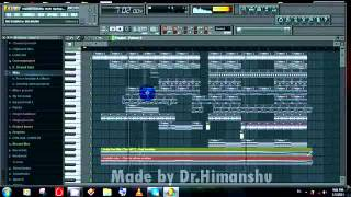 [Beat 1] Punjabi Beat Making in Fl Studio ⠁ UK Vibe ⠁ - [Dr.Himanshu]