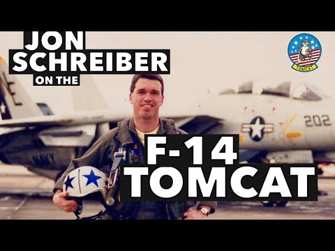 "Interview with Jon ""Hooter"" Schreiber on the F-14 Tomcat"