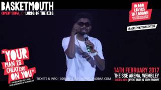 BASKETMOUTH - Woman Are Smart  - @basketmouth LIVE AT THE SSE ARENA WEMBLEY Valentines Day
